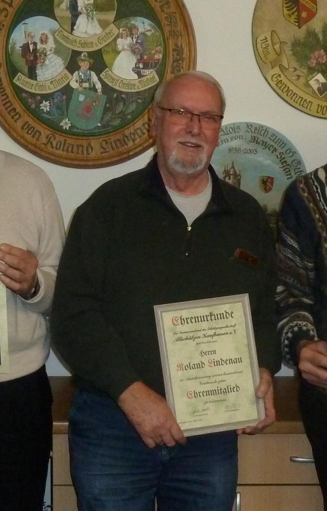 Ehrenmitglied Roland Lindenau